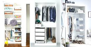 reach in closet organizer small closet ideas 9 storage ideas for small closets small closet ideas