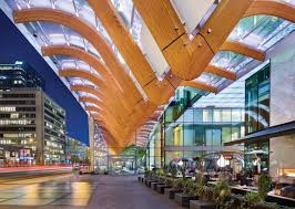telus garden offices office mcfarlane. A Sculptural Canopy Shelters Public Plaza And Leads Visitors Into The Office Lobby. Photo Telus Garden Offices Mcfarlane