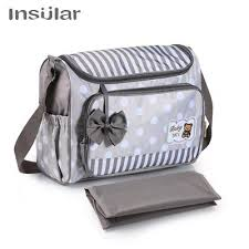 <b>Insular</b> Baby <b>Mummy Maternity</b> Diaper Nursing Bag Baby Nappy ...
