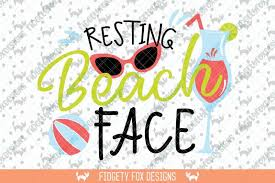 Resting nothing's wrong, i promise face. Free Resting Beach Face Svg Beach Clipart Sunglasses Svg Vacation Svg Crafter File The Big List Of Places To Download Free Svg Cut Files