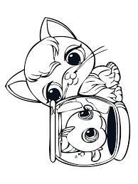 Littlest Pet Shop Printable Coloring Pages Zupa Miljevcicom