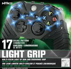 Light Up Xbox One Nyko 86122 Xbox One Light Controller Grip