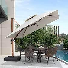 purple leaf 10ft patio umbrella outdoor