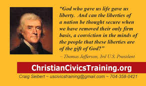 Thomas Jefferson Quotes Christianity Best of Store Christian Civics Training