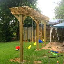 build backyard playset plans wood swing set sets design free including wooden by pergola