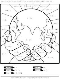 Coloring Page Of The Earth Earth Science Coloring Pages Science