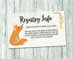 28 Fresh Baby Registry Card Template Tearsinthedarkness