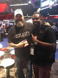 Ivan Payne hanging with the crush fam.... - Crush Drums and Percussion |  Facebook