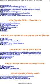 § 35 bauo nrw 2018, notwendige treppenräume, ausgänge. Bauordnung Fur Das Land Nordrhein Westfalen Bauo Nrw Pdf Kostenfreier Download
