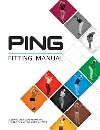 Ping Putter Fitting Color Chart Ping Fitting Manual 2017 By Ping Europe Ltd Issuu