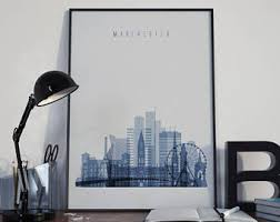 manchester watercolor manchester wall art united kingdom multicolor manchester city home decor manchester skyline manchester print on manchester skyline wall art with manchester watercolor manchester wall art united kingdom