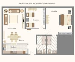 Wonderfulstudioapartmentlayoutwithdoblebedroomanddoble - Studio apartment furniture layout