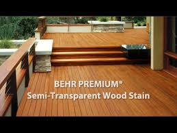 Behr Semi Transparent Wood Stain Color Chart Behr Premium Semi Transparent Weatherproofing All In One Wood Stain Sealer