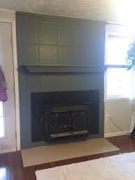 dining painting a tile fireplace crooked cottage can you lay tile over tile fireplace install tile over existing tile fireplace