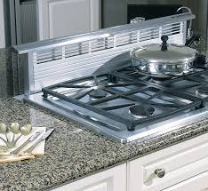 outstanding stove downdraft ventilation the stylish ge profile downdraft gas within downdraft gas cooktops modern