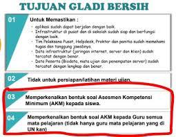 Untuk detialnya bisa download filenya di link berikut ini. Contoh Soal Asesmen Kompetensi Minimum Pada Gladi Bersih Unbk 2020 Widoajiwibowo Info