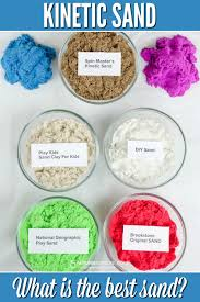 kinetic sand testing kinetic sand what is the best play sand