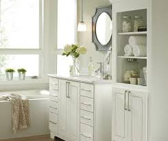 white bathroom cabinets. white bathroom cabinets by kemper cabinetry