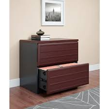 Cherry File Cabinets Altra Furniture Pursuit Cherry And Gray File Cabinet 9522196 The