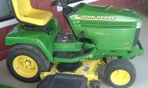 john deere 325 335 345 lawn garden