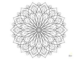 Flower Coloring Sheet Spring Flower Coloring Pages Kids Flowers