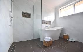 maria s bathroom uses a walk in shower the best type of shower for cleaning as little as possible