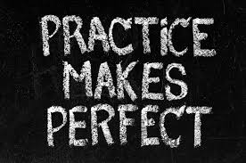 Image result for Images of Practice Makes Perfect