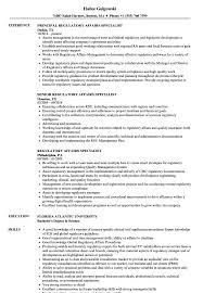Regulatory Affairs Specialist Resume Samples Velvet Jobs
