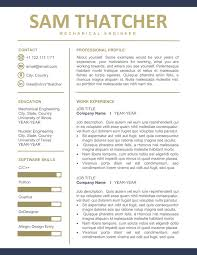 Business Resume For Ms Word Instant Download Professional Resume