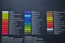 Lyra Rembrandt Polycolor Colour Chart Lyra Polycolor The Art Gear Guide