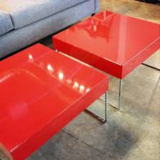 lacquer furniture modern. Red Lacquer Side Tables Or Bunching Tables, Available At Five Elements Furniture In Austin, Modern R