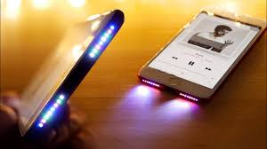 Iphone Se Light Mod Glowing Speaker Iphone Mod See Your Music In Rgb