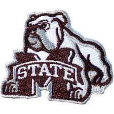 Mississippi State University Embroidery Designs Amazon Com Mississippi State Bulldogs Ncaa Bulldog Iron On