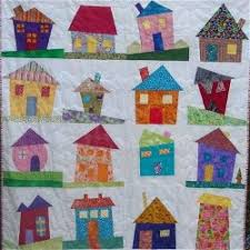 Wonky House Quilt | Craftster Blog & Wonky House Quilt Adamdwight.com