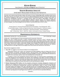 Business Analyst Sample Resume O60 Resume Templatessiness Analyst Sample India Pdf Senior Business 50