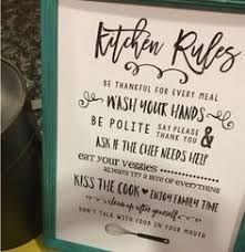 dining room wall art sign funny kitchen rule sign table manners kitchen sign  on wall art kitchen rules with dining room wall art sign funny kitchen rule sign table manners