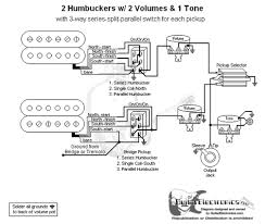 2 hbs 3 way toggle 2 vol 1 tone series split parallel 2 humbuckers 3 way toggle switch 2 volumes 1 tone series