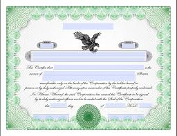 Stock Certificats Downloadable Stock Certificates Printable Online Stock Certificates