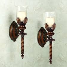 decorative wall sconces candle holders medium size of brushed nickel decor decorative wall sconces candle holders