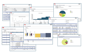 Cognos Pie Chart Reports And Business Analytics Maximo Review