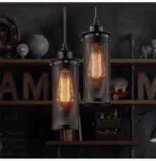 e27 vintage industrial ceiling lamp