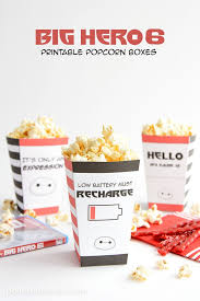 Decorative Popcorn Boxes Best Diy Crafts Ideas For Your Home Free Printable Big Hero 60 29