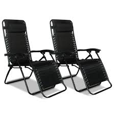 image zero gravity recliner black 2 pack to enlarge the image