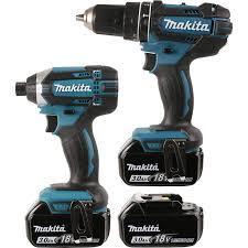 makita power tools drill. makita dlx2131jx1 18v li-ion cordless combi drill \u0026 impact driver twin pack power tools