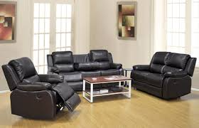 Living Room Sofas And Loveseats Dark Brown Motion Reclining Living Room Set Includes Sofa