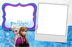 frozen birthday invitation template photo frozen birthday invitation