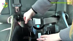 graco connect car seat manual junior baby car seat base fitting guide installation middle belt