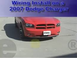 dodge charger wiring harness solidfonts trailer wiring harness installation 2007 dodge charger video