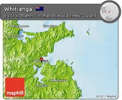 free physical map of whitianga Whitianga Map New Zealand physical map of whitianga whitianga new zealand map