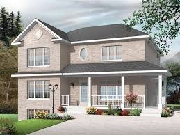 Page of   Multi Family House Plans  Triplexes  amp  Townhouses    Multi Family Home Plan  M